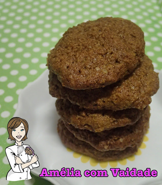 Cookie Integral de Maçã