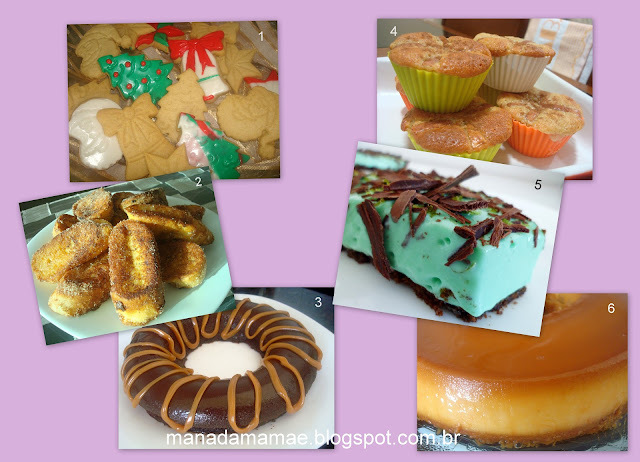 doces simples para o natal