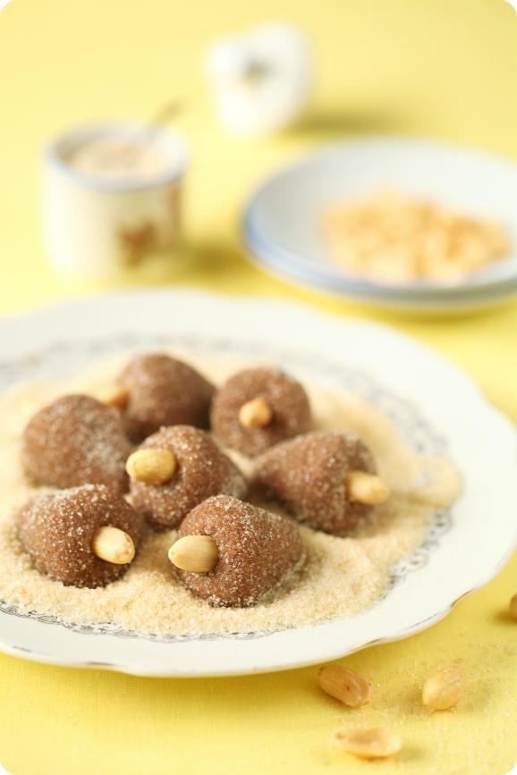 """Бразильские конфеты """"Cajuzinhos"""" / Cajuzinho de amendoim"""