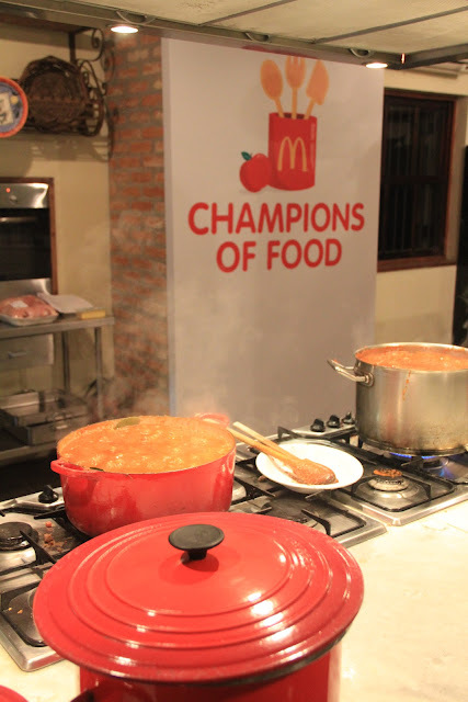 Evento McDonald's - Champions of Food