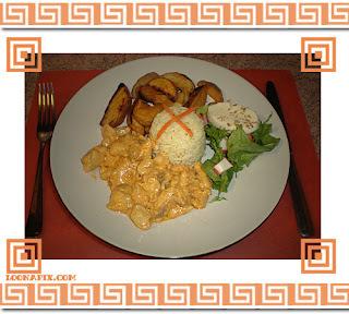 salada para acompanhar strogonoff de frango