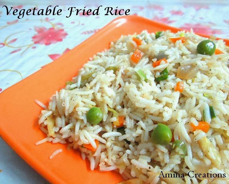 cauliflower gravy for fried rice