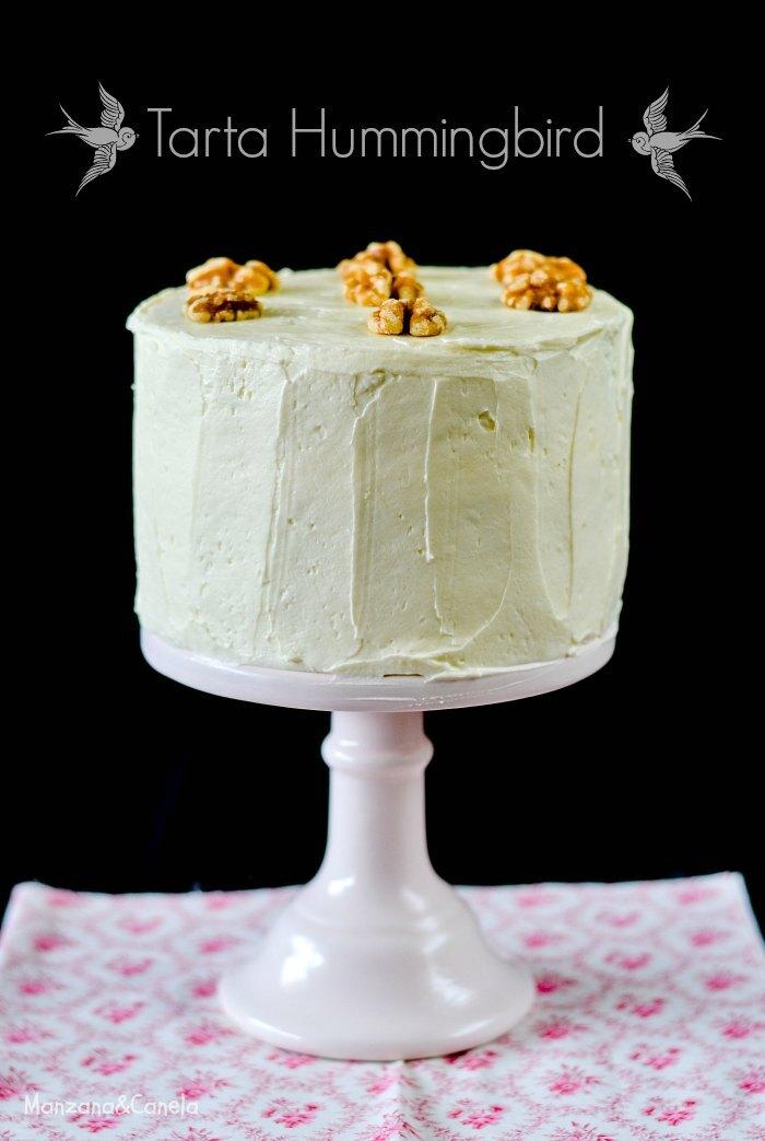 Tarta Hummingbird (tarta Colibrí) para mi cumpleaños!