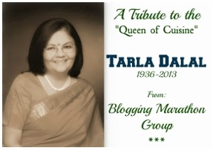 Chocolate chip cookies ~ A tribute to Tarla Dalal