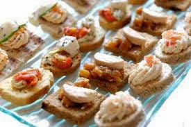 Canapes calientes
