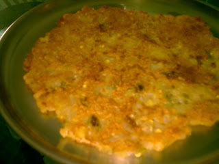 Sabudana Thalipeeth/Spicy Tapioca Pancake