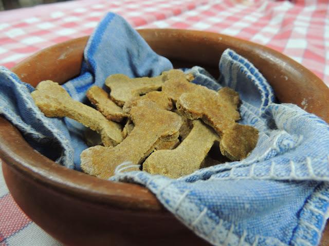Galletas caseras para perro. 100% orgánicas!