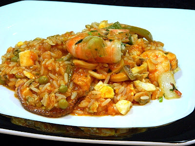 Risoto de Frutos do Mar