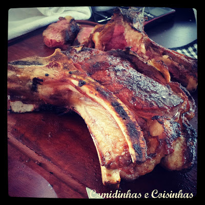 T-Bone tipo Maturado - Dry-Rubbed Rib-Eye Anne Burrell