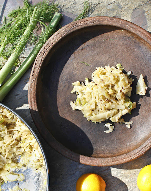Cabbage and Fennel. A Taste Of Spring Fast And Easy.