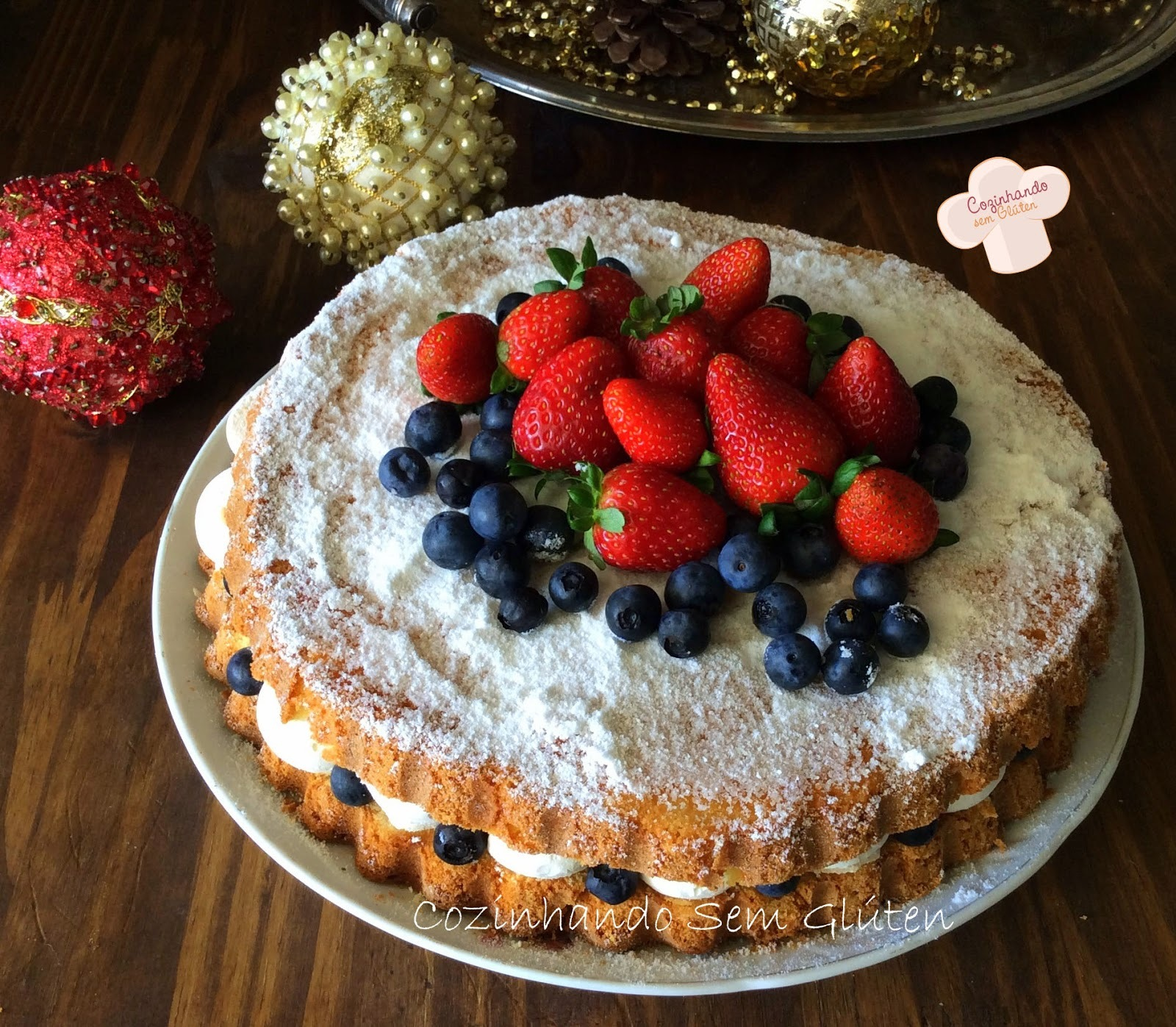 Naked cake ou bolo nu