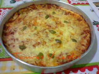 massa de pizza de liquidificador com farinha integral