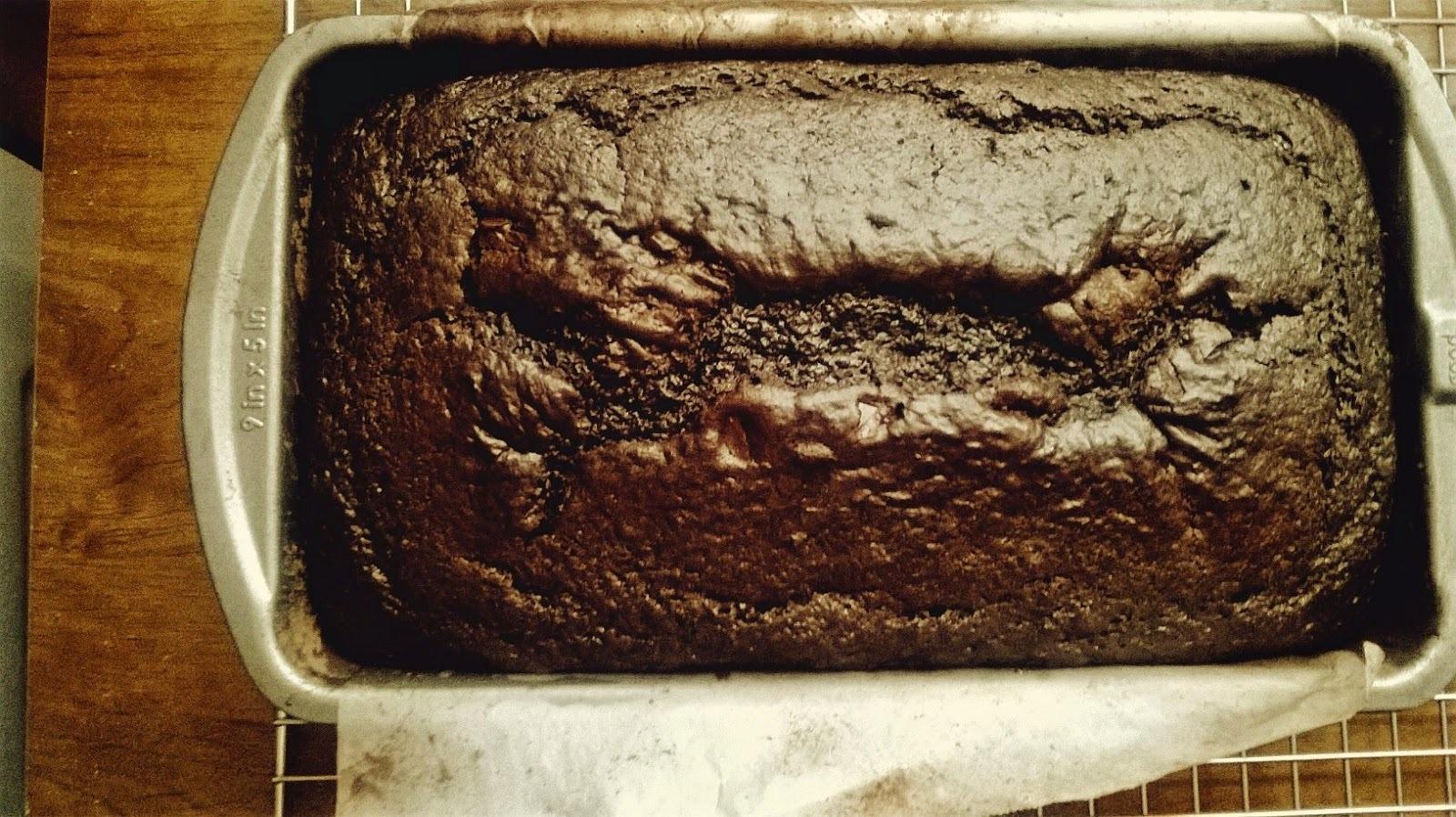 Panqué de Chocolate y Jengibre Fresco
