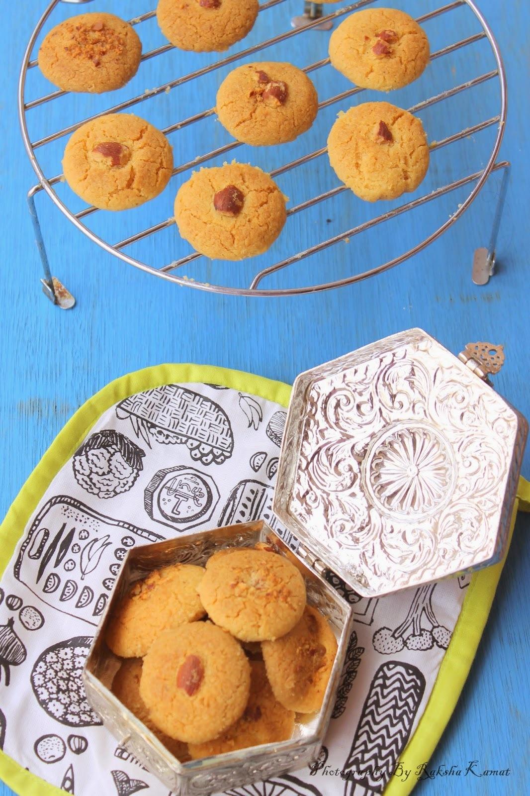 Nankhatai   Indian Cookies
