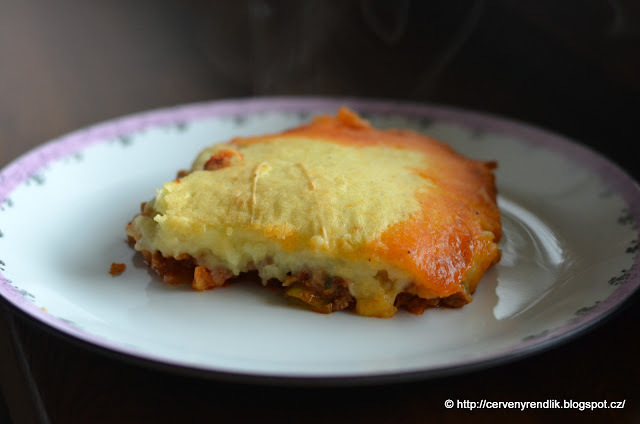 Pastýřský koláč (Shepherd´s pie)
