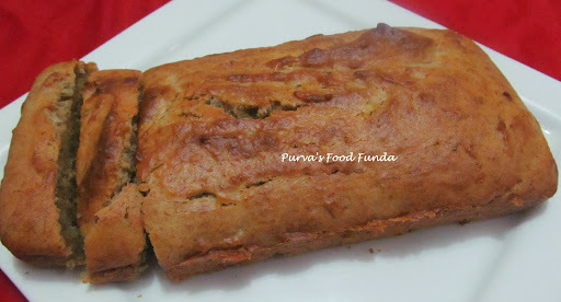 banana cake eggless