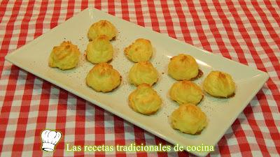 Receta fácil de patatas Duquesa