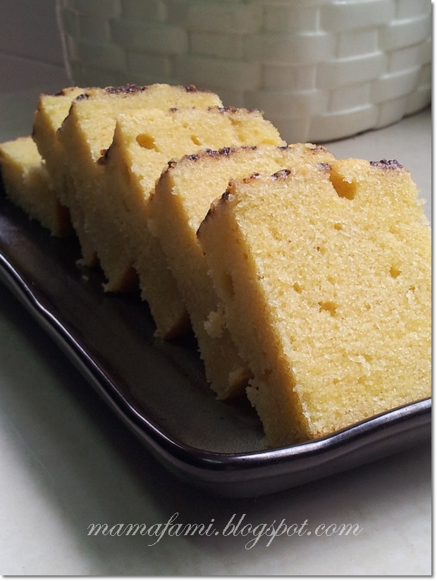 Rich Butter Cake
