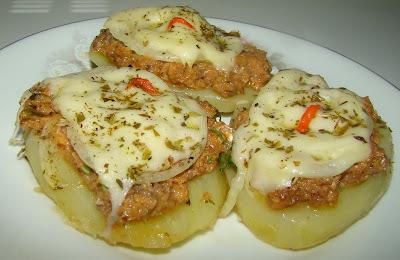 com sardinha enlatada com batata
