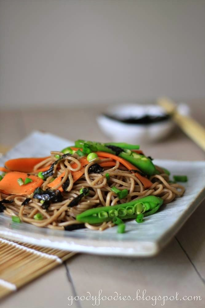 Recipe: Soba Noodle Salad (Gordon Ramsay)