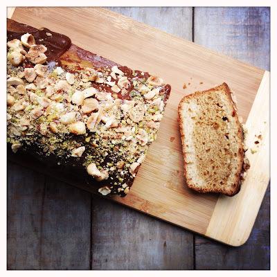Cake marbré vanille et praliné (d'inspiration Doriannienne)