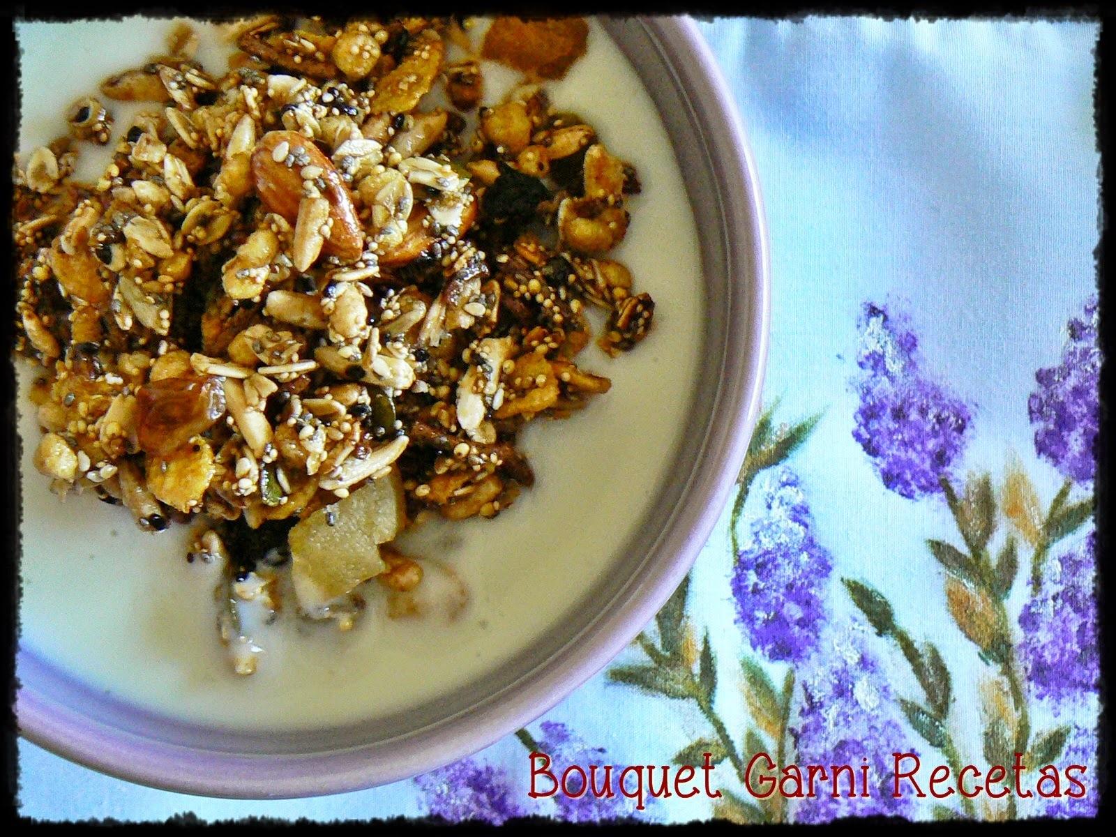 Granola casera (o las delicias de preparar tu propio Muesli/Müesli)
