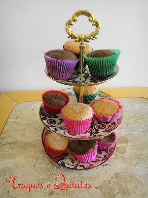 Cupcake de morango (na massa)