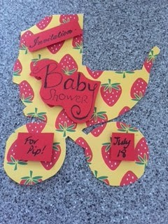 Summer Strawberry-themed Baby Shower