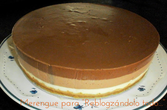 TARTA 3 CHOCOLATES