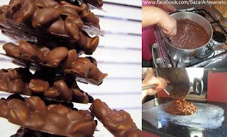 PÉ DE MOLEQUE DE CHOCOLATE...