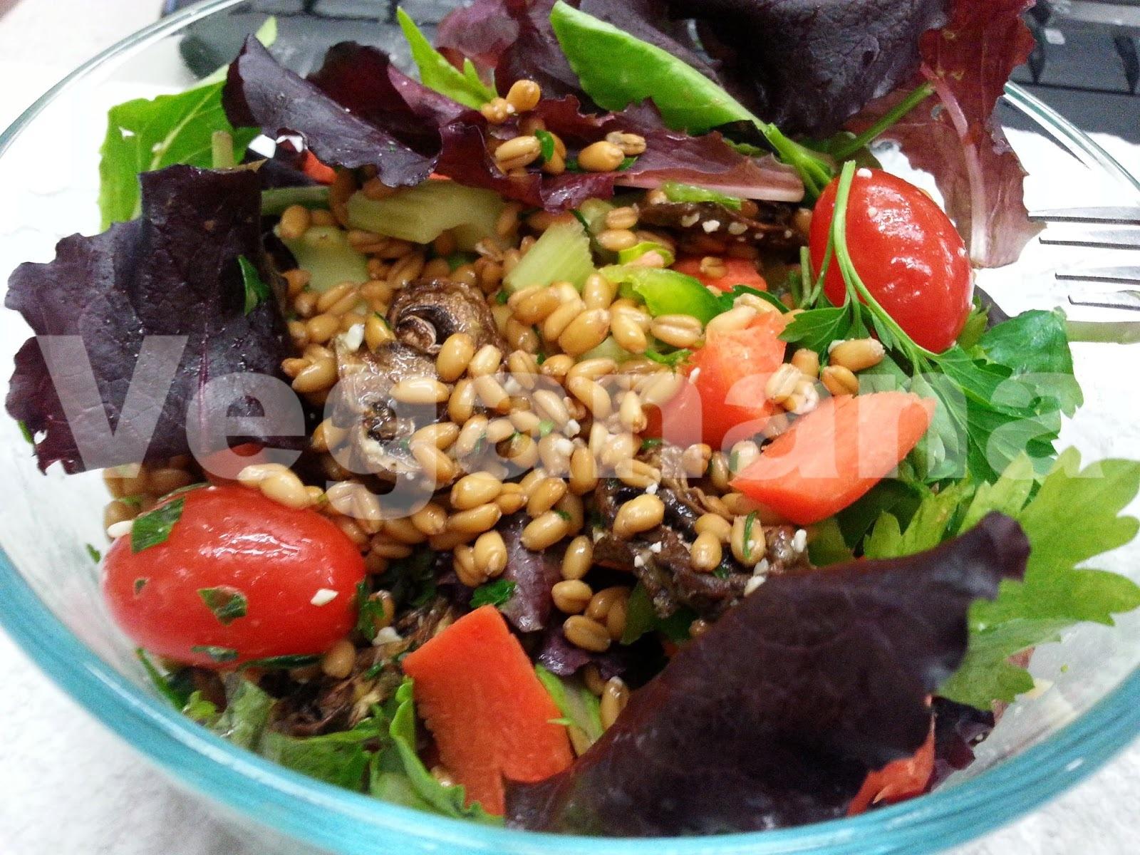 Salada de Trigo Orgânico