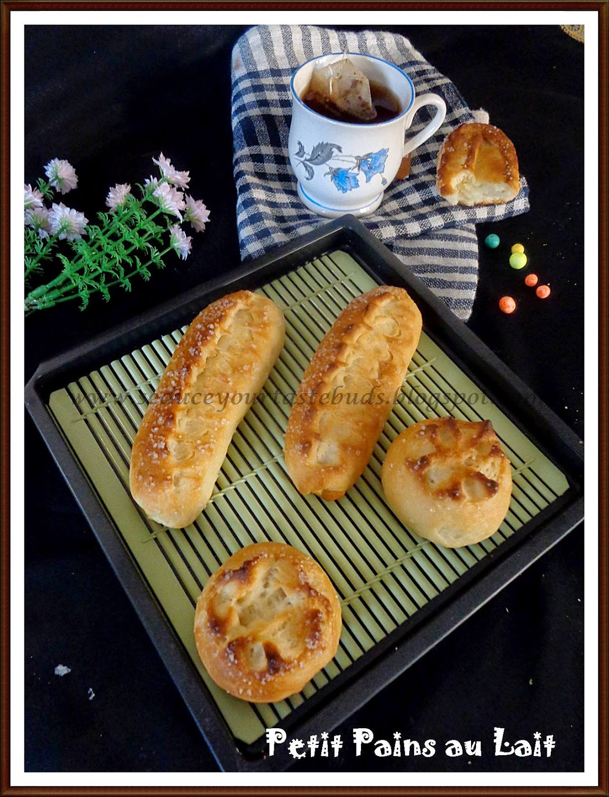 Petit Pains au Lait (French Milk Bread/ Rolls) : We Knead To Bake #17