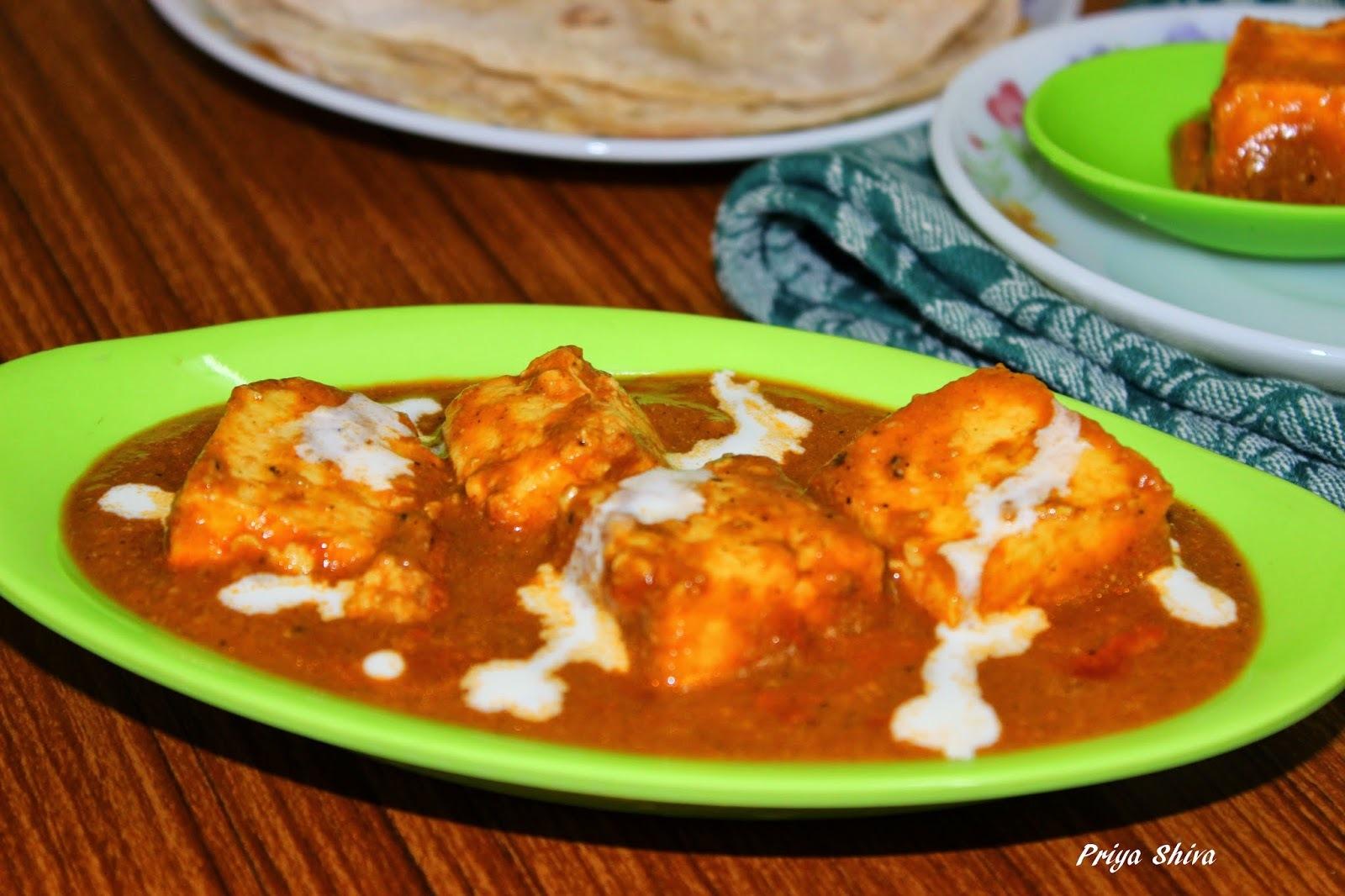 Shahi Paneer Masala / Shahi Paneer Recipe