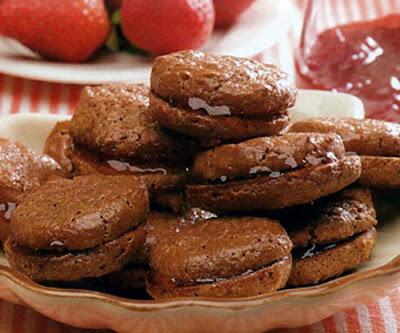 Biscoitos Casadinhos de Chocolate