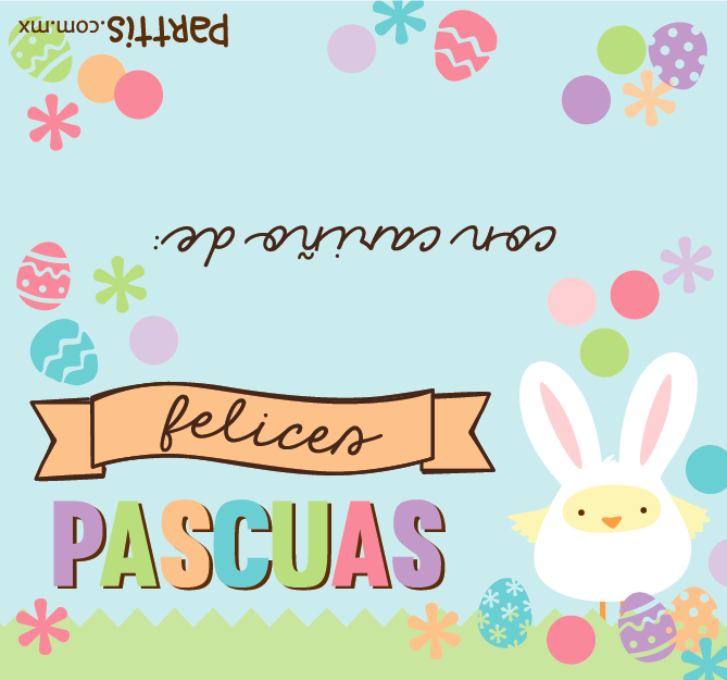 Imprimible para Pascua