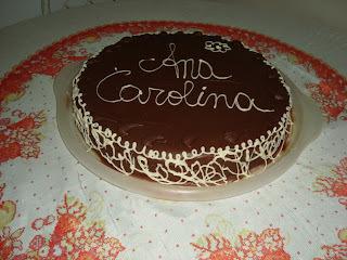 Bolo de Aniversário - Ana Carolina