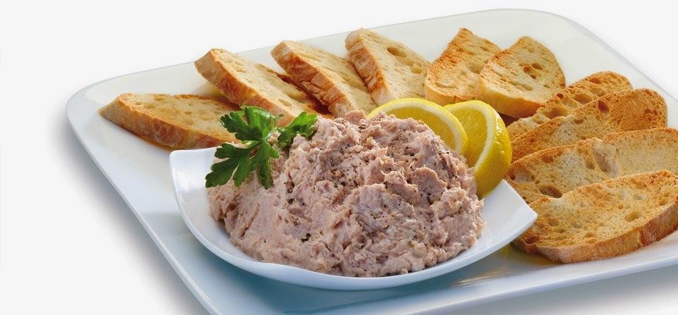 paté de atum, pasta de atum