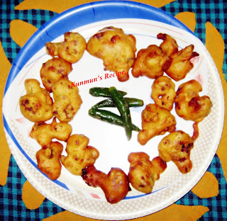 GOBI PAKODA WITH CHILLI CHATPATTA