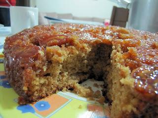 bolo sem açucar e baixa caloria
