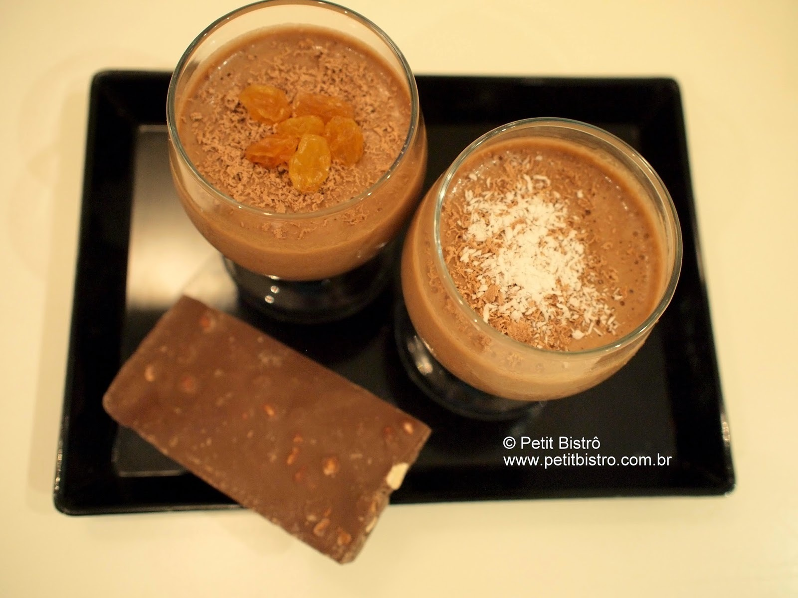 mousse de chocolate com achocolatado facil