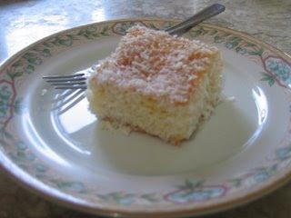 bolo gelado de coco diet no liquidificador