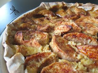 Tarte bavaroise aux pommes