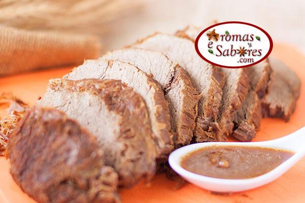Receita de carne assada simples