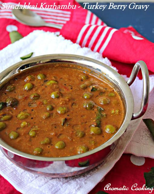 Sundakkai Kuzhambu/ Turkey Berry Gravy