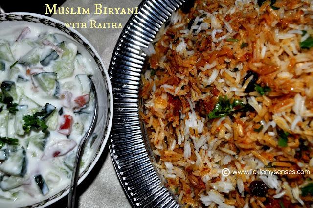 Eid Mubarak and A Delicious Muslim Biryani Recipe!!