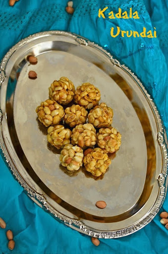Kadala Urundai and Pottukadalai Urundai/Peanut Balls and Roasted Gram Dhal Balls - Microwave Version
