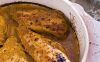 de file de peito de frango assado no forno