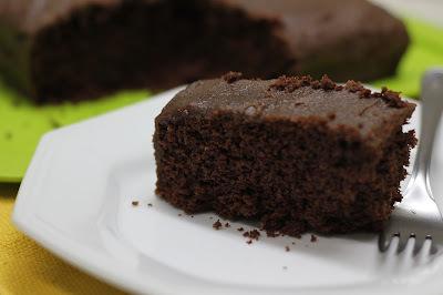 Bolo de Chocolate Sem Glúten e Sem Lactose