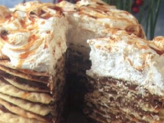 torta de manzana facil sin manteca