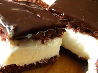 Túrókocka csokimázzal